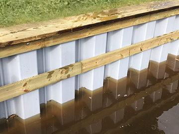 Lake Trades Vinyl Seawall